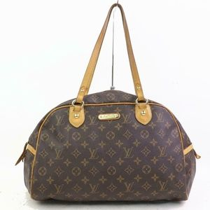 Auth Louis Vuitton Montorgueil Gm #1046L29